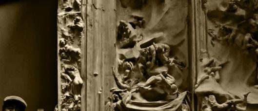 sepia-au pas de la porte de l'enfer, by Anh Mat
