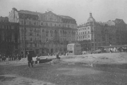 Hotel Polonia Warsaw 1946 blog