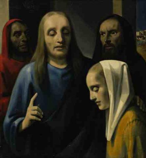 Christ et la femme adultère