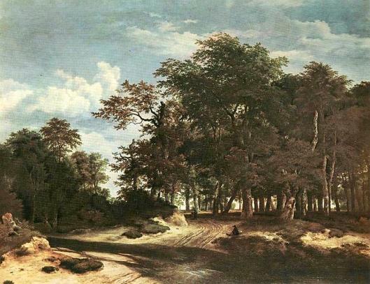 peintre regarde-moi 5 Ruisdael