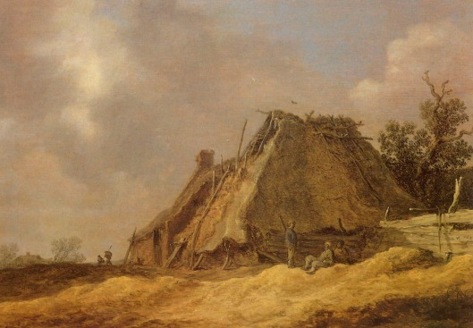 19 11 Jan van Goyen fermes avec paysans