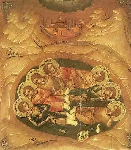 les sept dormants d'éphèse