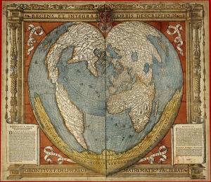 Mappemonde 1531