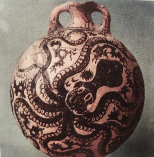 pour les cosaques vase crétois