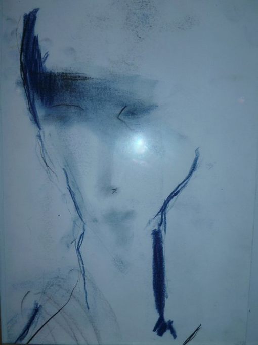 Martine Cros autoportrait