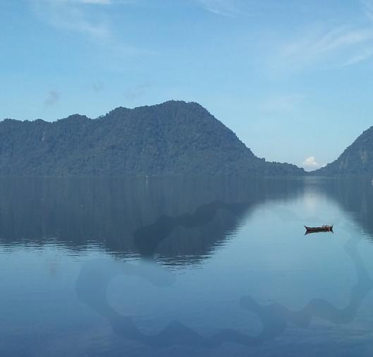 La barque-